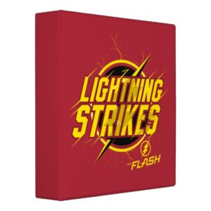 "The Flash | ""Lightning Strikes"" Graphic 3 Ring Binder"