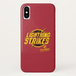 """The Flash   """"Lightning Strikes"""" Graphic Case-Mate iPhone Case"""