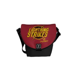 """The Flash   """"Lightning Strikes"""" Graphic Courier Bag"""