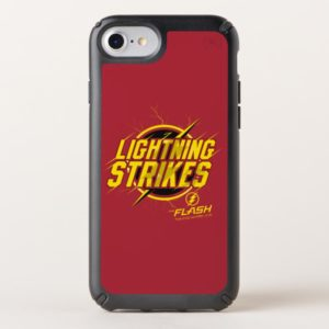 "The Flash | ""Lightning Strikes"" Graphic Speck iPhone Case"