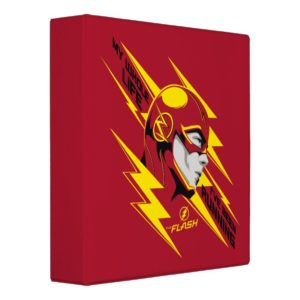 The Flash | My Whole Life I've Been Running 3 Ring Binder