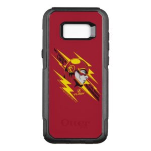 The Flash | My Whole Life I've Been Running OtterBox Commuter Samsung Galaxy S8+ Case