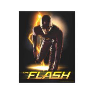 The Flash   Sprint Start Position Canvas Print