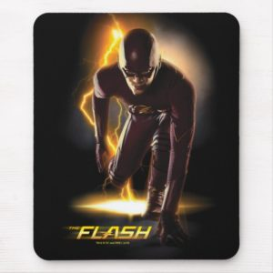 The Flash   Sprint Start Position Mouse Pad