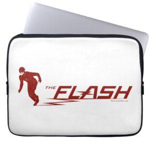 The Flash | Super Hero Name Logo Computer Sleeve