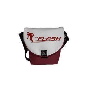 The Flash | Super Hero Name Logo Courier Bag
