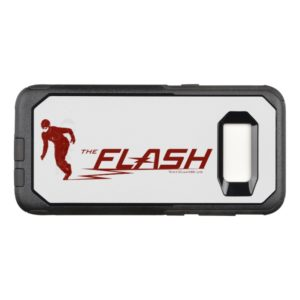 The Flash | Super Hero Name Logo OtterBox Commuter Samsung Galaxy S8 Case