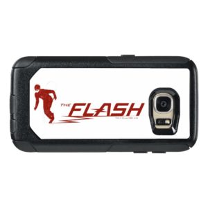 The Flash | Super Hero Name Logo OtterBox Samsung Galaxy S7 Case