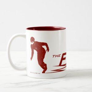 The Flash | Super Hero Name Logo Two-Tone Coffee Mug
