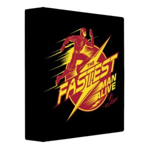 The Flash | The Fastest Man Alive 3 Ring Binder