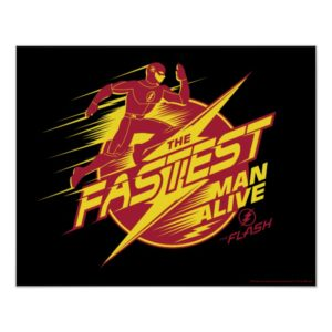 The Flash | The Fastest Man Alive Poster