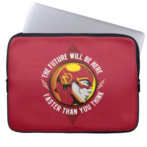 "The Flash | ""The Future Will Be Here"" Computer Sleeve"