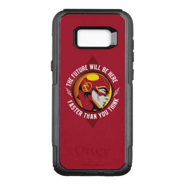 "The Flash | ""The Future Will Be Here"" OtterBox Commuter Samsung Galaxy S8+ Case"