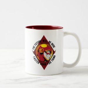 "The Flash | ""The Future Will Be Here"" Two-Tone Coffee Mug"