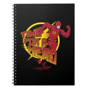 """The Flash   """"Time For A Hero"""" Graphic Notebook"""