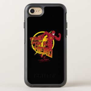 """The Flash   """"Time For A Hero"""" Graphic OtterBox iPhone Case"""