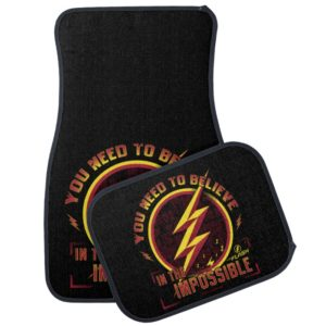 The Flash   You Need To Believe In The Imposible Car Floor Mat