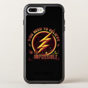 The Flash | You Need To Believe In The Imposible OtterBox iPhone Case