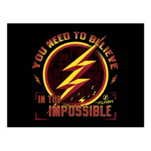 The Flash | You Need To Believe In The Imposible Postcard