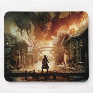 The Hobbit - Laketown Movie Poster Mouse Pad
