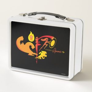 The Incredibles 2 | Family Dynamic Metal Lunch Box