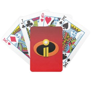 The Incredibles 2 | Logo Bicycle Playing Cards
