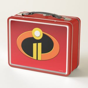 The Incredibles 2 | Logo Metal Lunch Box