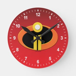 The Incredibles 2   Logo Round Clock