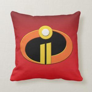 The Incredibles 2 | Logo Throw Pillow