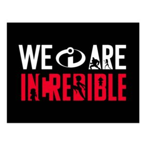 The Incredibles 2 | We Are Incredible Postcard