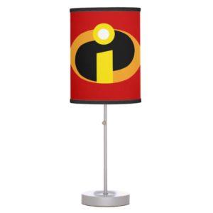 The Incredibles Logo Desk Lamp