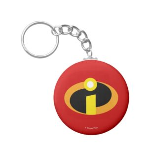 The Incredibles Logo Keychain