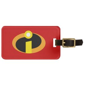 The Incredibles Logo Luggage Tag
