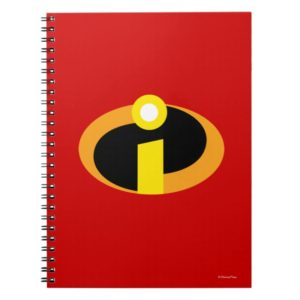 The Incredibles Logo Notebook