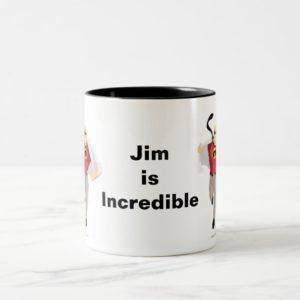 The Incredibles Mr. Incredible like Superman Two-Tone Coffee Mug