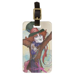 The Mad Hatter | I am NOT an Illusion 2 Bag Tag