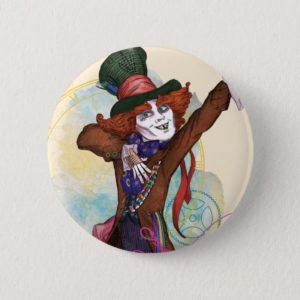 The Mad Hatter | I am NOT an Illusion Button