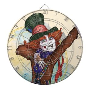 The Mad Hatter   I am NOT an Illusion Dartboard