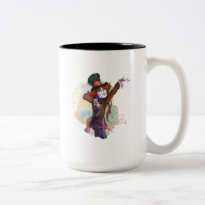 The Mad Hatter   I am NOT an Illusion Two-Tone Coffee Mug