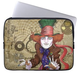 The Mad Hatter | Mad as a Hatter 2 Computer Sleeve
