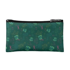 The Mad Hatter Pattern Cosmetic Bag