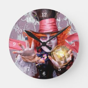 The Mad Hatter | You're all Mad Round Clock