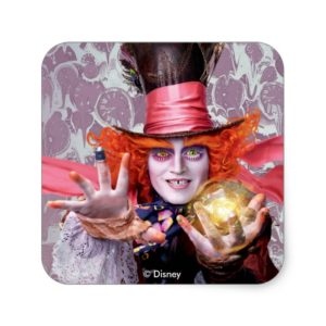 The Mad Hatter | You're all Mad Square Sticker