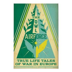 The Owl Air Force Poster