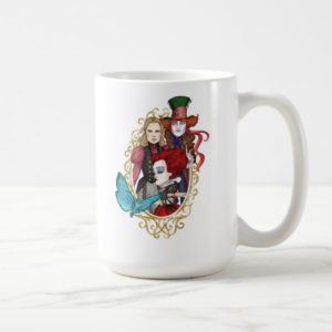 The Queen, Alice & Mad Hatter 2 Coffee Mug