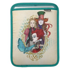 The Queen, Alice & Mad Hatter 3 iPad Sleeve