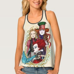 The Queen, Alice & Mad Hatter 3 Tank Top