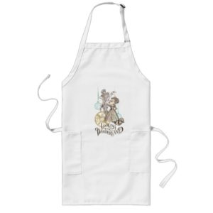 The Queen & Mad Hatter | Looking for Wonderland 2 Long Apron