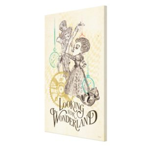 The Queen & Mad Hatter | Looking for Wonderland 3 Canvas Print