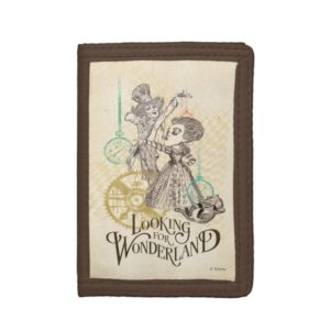 The Queen & Mad Hatter | Looking for Wonderland 3 Tri-fold Wallet